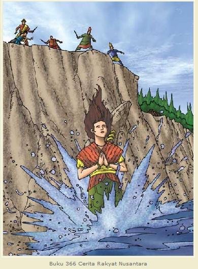 Puteri mandalika terjunkan dirinya ke laut