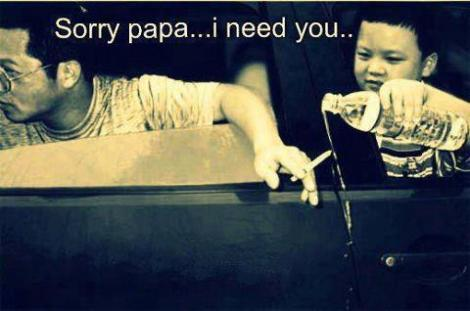 sorry papa I need You